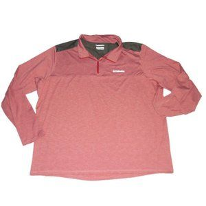 Columbia Tryon Creek Pullover Space Dye 1/4 Zip